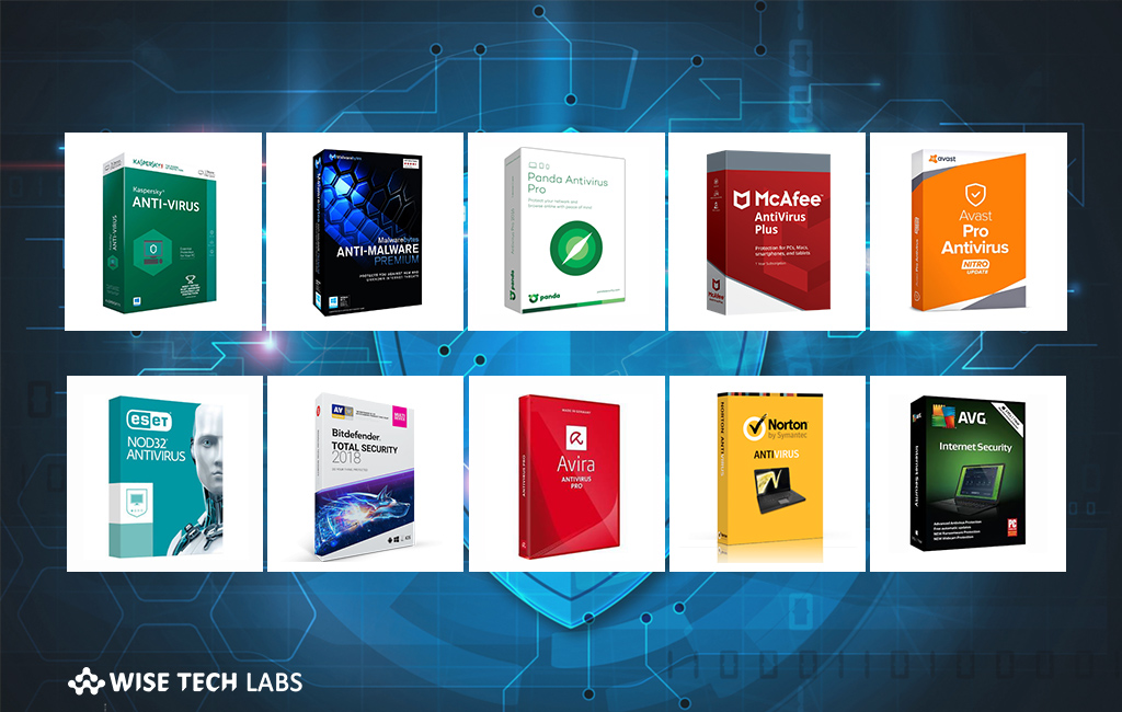 Top 10 Best Antivirus Software of 2018 - Blog - Wise Tech Labs