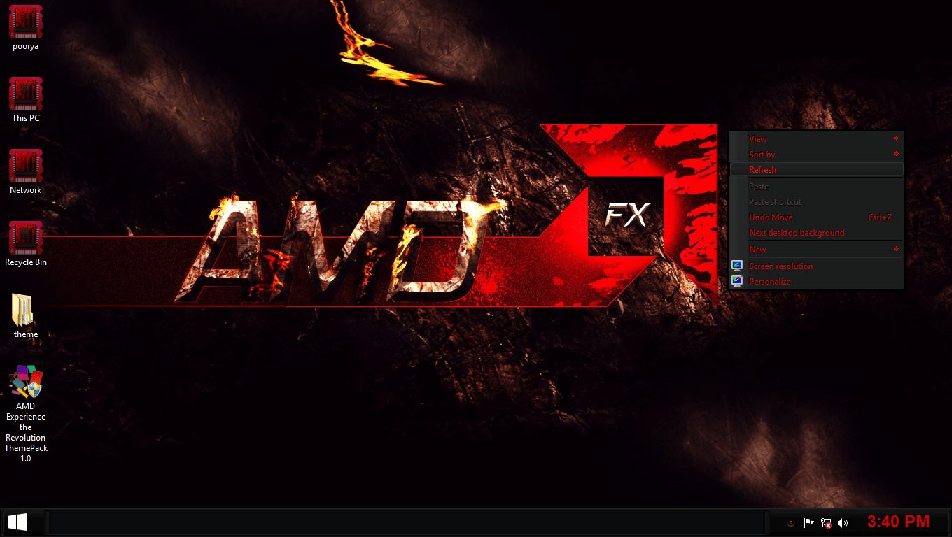 AMD Theme Pack _WiseTechLabs
