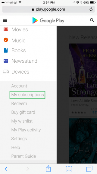How to Cancel a Subscription on Google Play Store - Blog