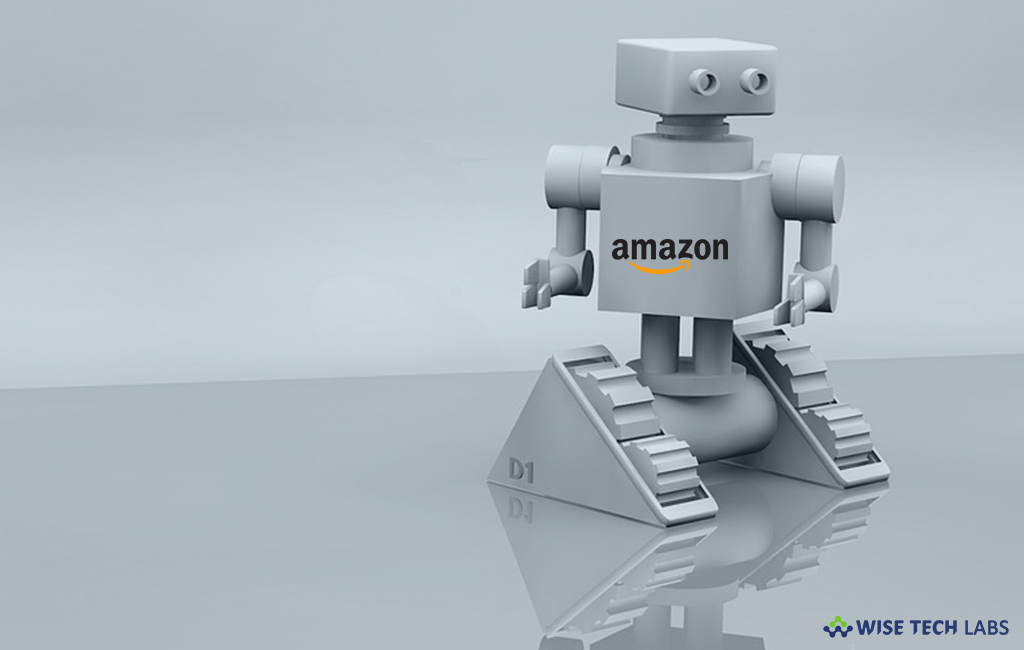 A Home Robot Could Be Amazon's Next Gamble