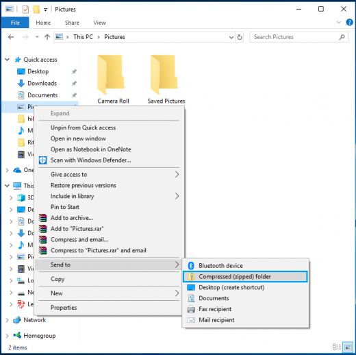 How to zip and unzip files in Windows 10 - Blog - Wise Tech Labs