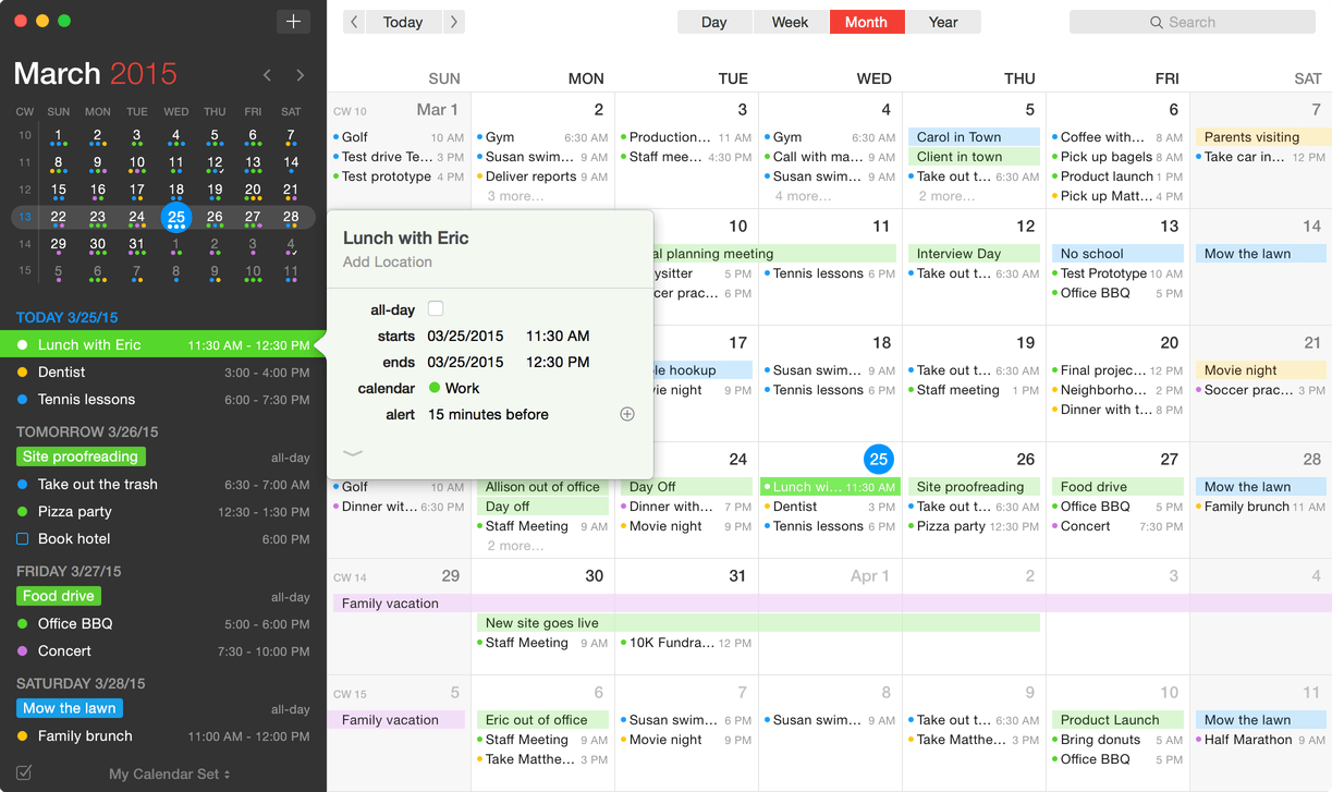 10 best calendar apps for Mac in 2018 - Blog - Wise Tech Labs