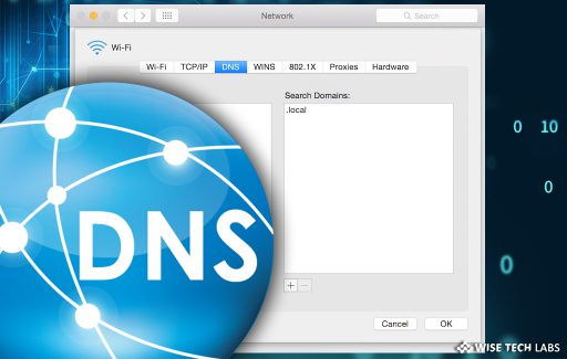 how_to_add_ and_search_domain_settings_in_ mac_wise_tech_labs