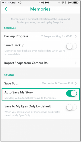 How to view your Snapchat stories from past months - Blog - Wise