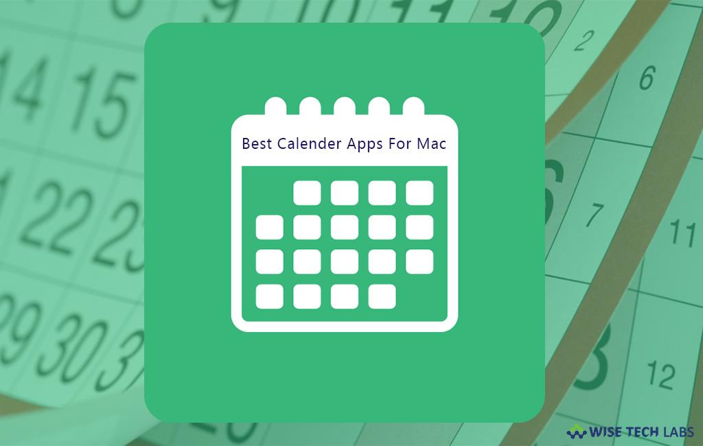 10 best calendar apps for mac in 2018