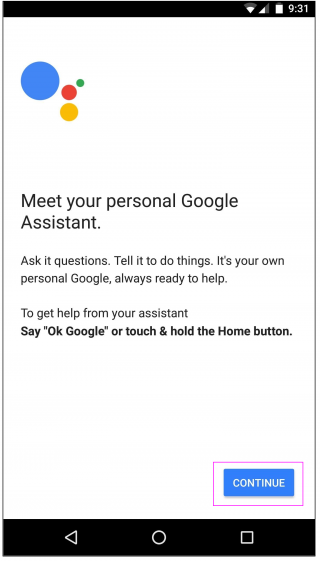 continue_google_assistant_wise_tech_labs