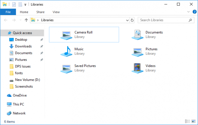 How to add or remove folders in Windows 10 library - Blog