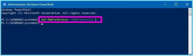 How to block Potentially Unwanted Programs using Windows