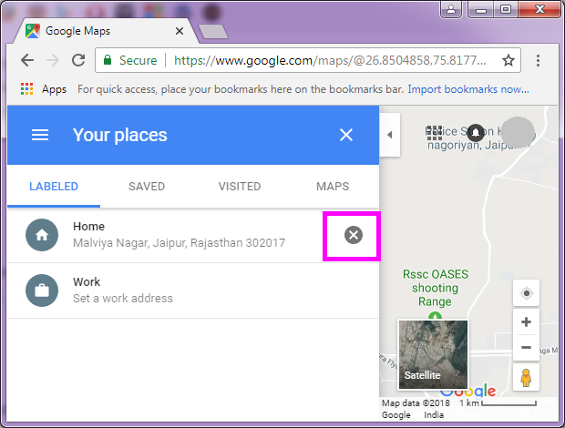 How to set or change your home and work address in Google Maps ... Change Home Address Google Maps on