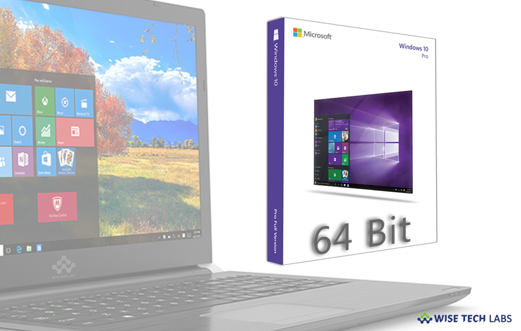 upgrade to windows 10 64 bit from 32