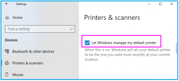 How to add and set default printer in your Windows 10 PC
