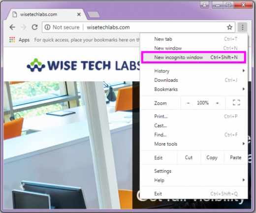 new-incognito-window-chrome-wise-tech-labs