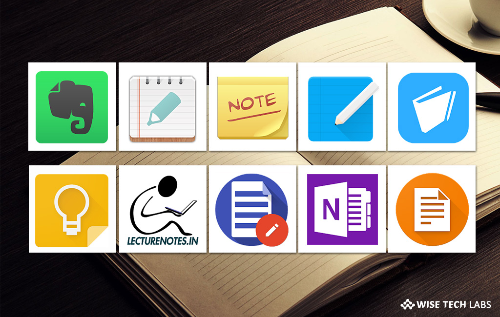 10 best note taking apps for Android in 2018 - Blog - Wise