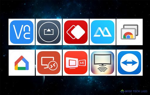 top-10-screen-mirroring-apps-for-android-and-ios-in-2018-wise-tech-labs