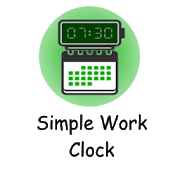 Simple Work Clock