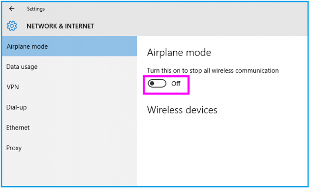 airplane-mode-off-windows10-wise-tech-labs