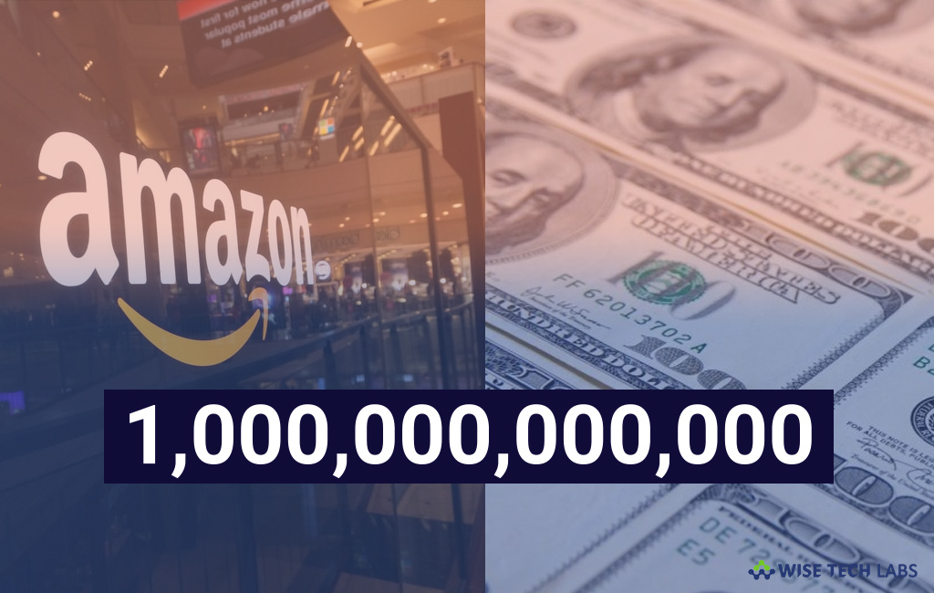 amazons-stock-value-reached-at-1-trillion-usd-and- joined-trillionaire-club-wise-tech-labs