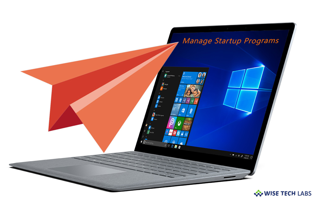 change which programs run at startup