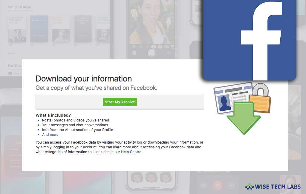 How to download a copy of your Facebook account data - Blog