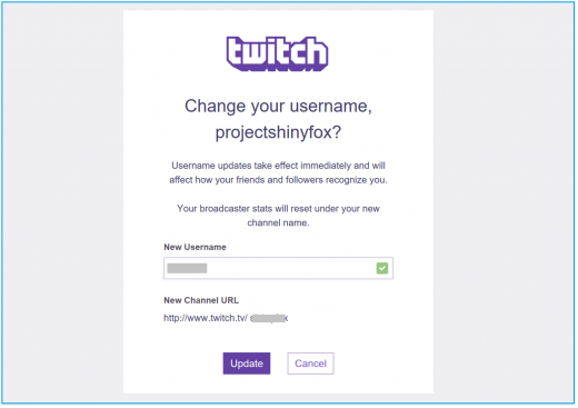 How to change username on your Twitch Account - Blog - Wise Tech Labs