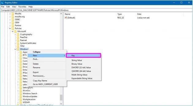 windows-regedit-windowsupdate-key-wise-tech-labs