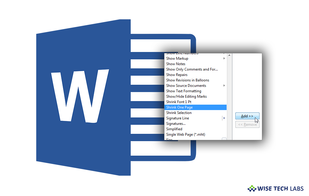 How to automatically shrink text to fit in Microsoft Word