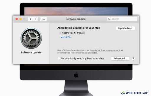 how-to-check-software-update-in-macos-mojave-wise-tech-labs