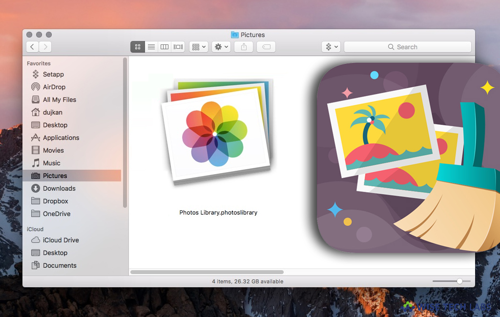 how to delete photos from mac photo library