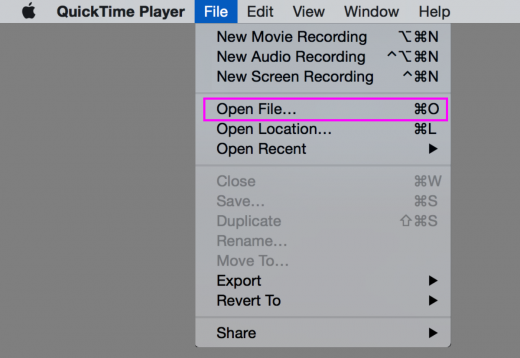 quick time player for mac