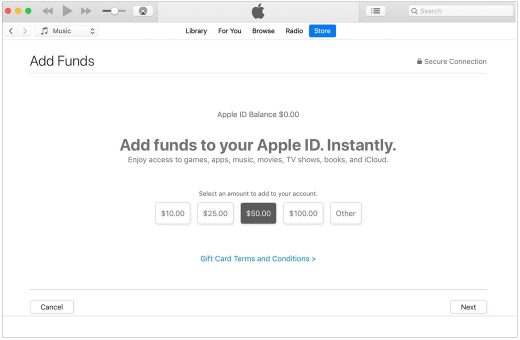 add-funds-to-apple-id-mac-or-pc-itunes-wise-tech-labs