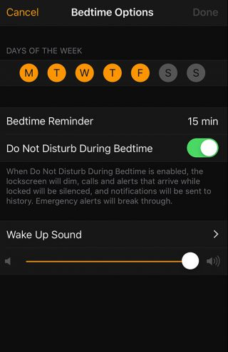 bedtime-settings-iphone-wise-tech-labs