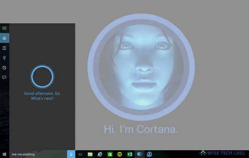 how-to-hide-cortana-button-from-the-task-bar-on-your-windows-10-wise-tech-labs