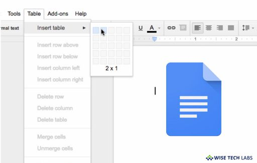 how-to-insert-or-remove-columns-in-a-document-in-google-docs-wise-tech-labs