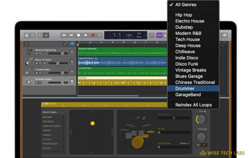 how-to-use-drummer-loops-in-garageband-for-mac-wise-tech-labs