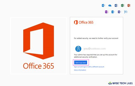 how-to-use-microsoft-authenticator-with-office-365-wise-tech-labs