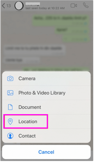 location-ios-whatsapp-wise-tech-labs