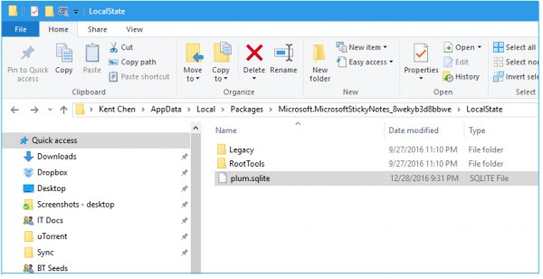 How to backup and restore Sticky Notes on your Windows 10 PC