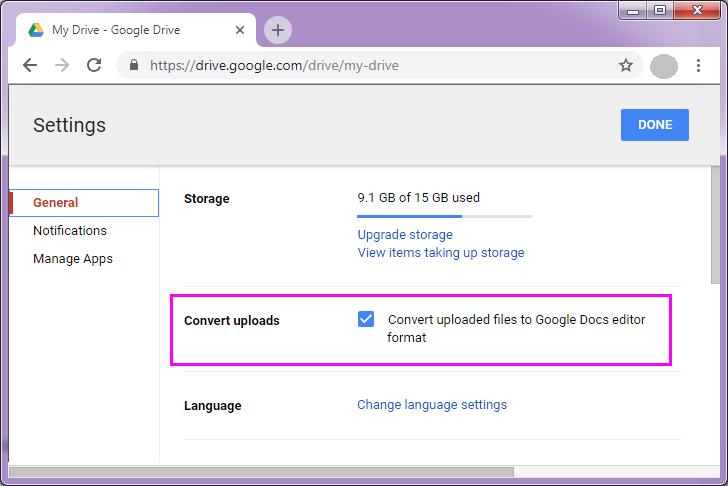 how do i upload a pdf to google drive