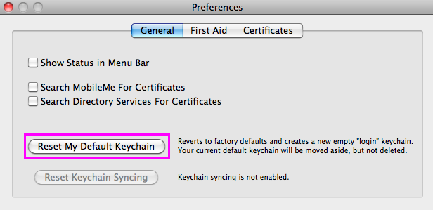 What to do if a Mac keeps asking for the login keychain