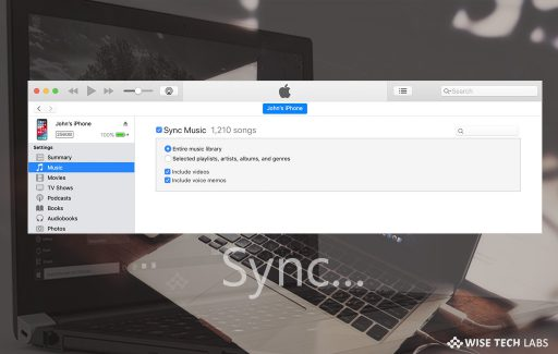 how-to-sync-your-iphone-ipad-or-ipod-using-itunes-on-your-computer-wise-tech-labs