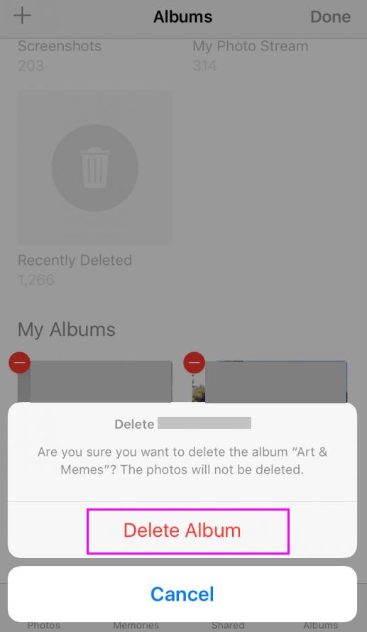 delete-ablum-ios-wise-tech-labs