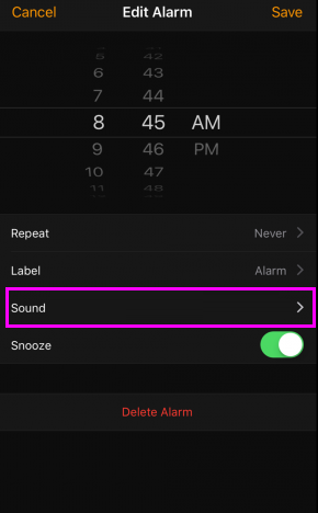 sound-alarm-ios-wise-tech-labs