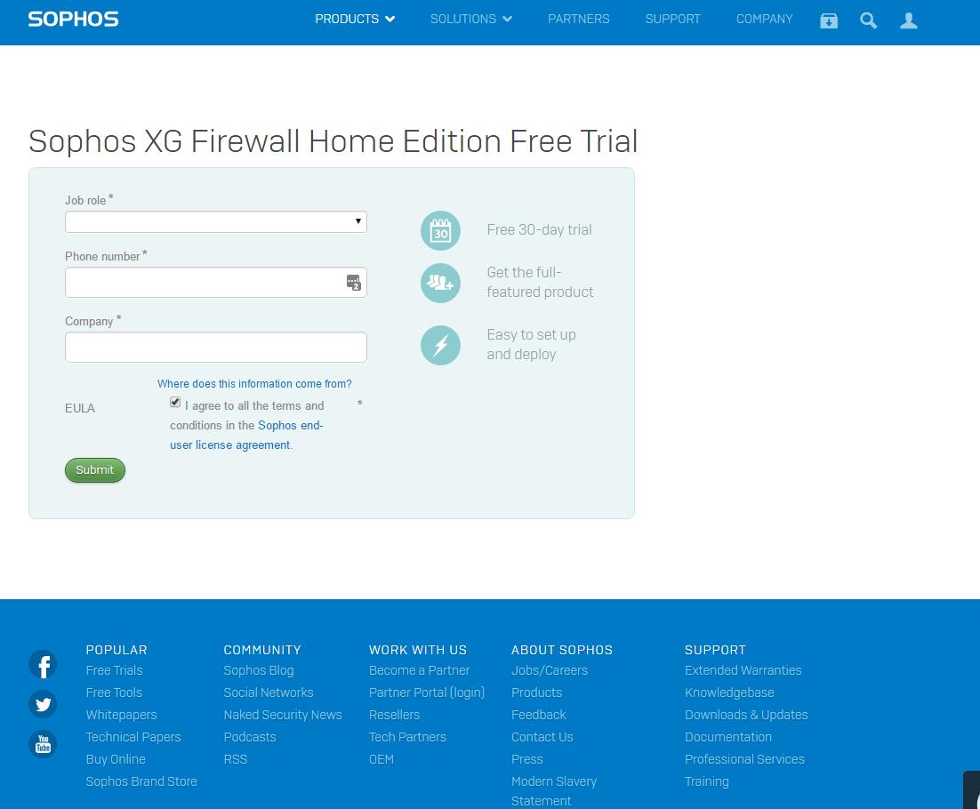 Sohos XG Firewall