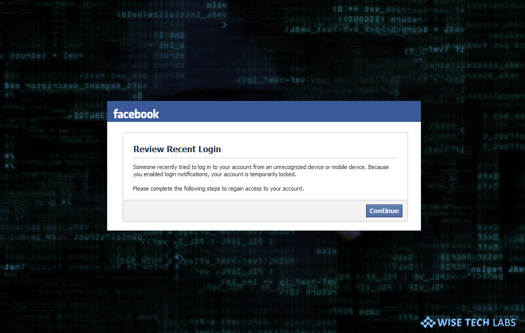 how-to-get-unauthorized-login-alert-or-notification-on-facebook-wise-tech-labs