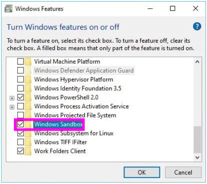 Windows-sandbox-wise-tech-labs