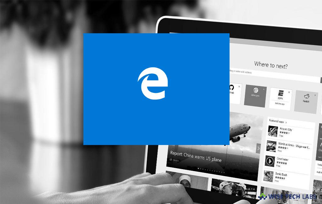 How to block websites in Microsoft edge on Windows 10