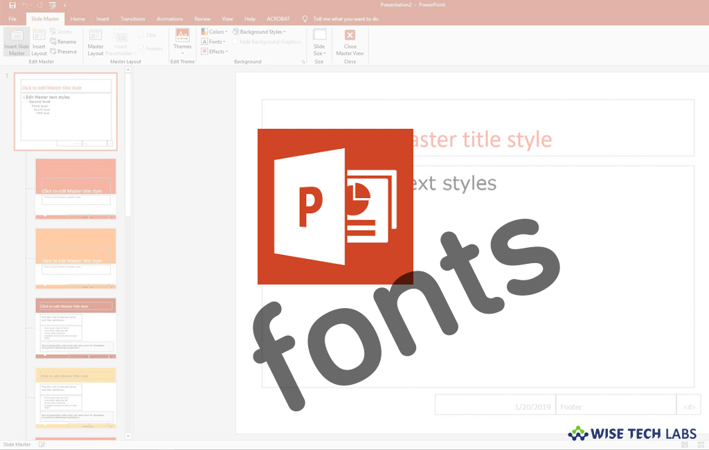 how-to-change-the-default-font-in-powerpoint-for-office-365-wise-tech-labs