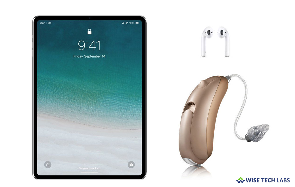 How to stream audio from iPad to your hearing devices