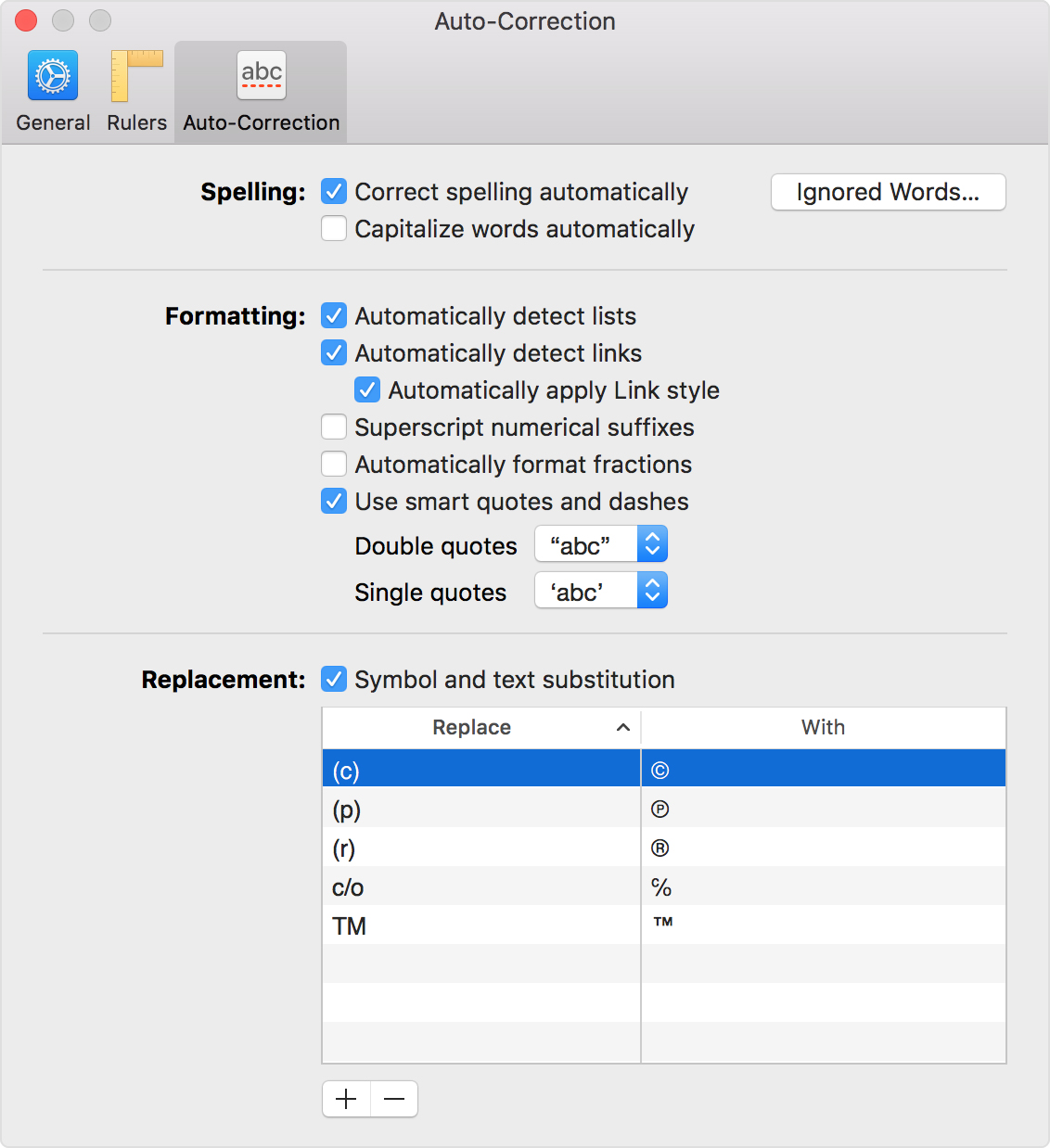 macos-pages7-preferences-auto-correction-replace-wise-tech-labs