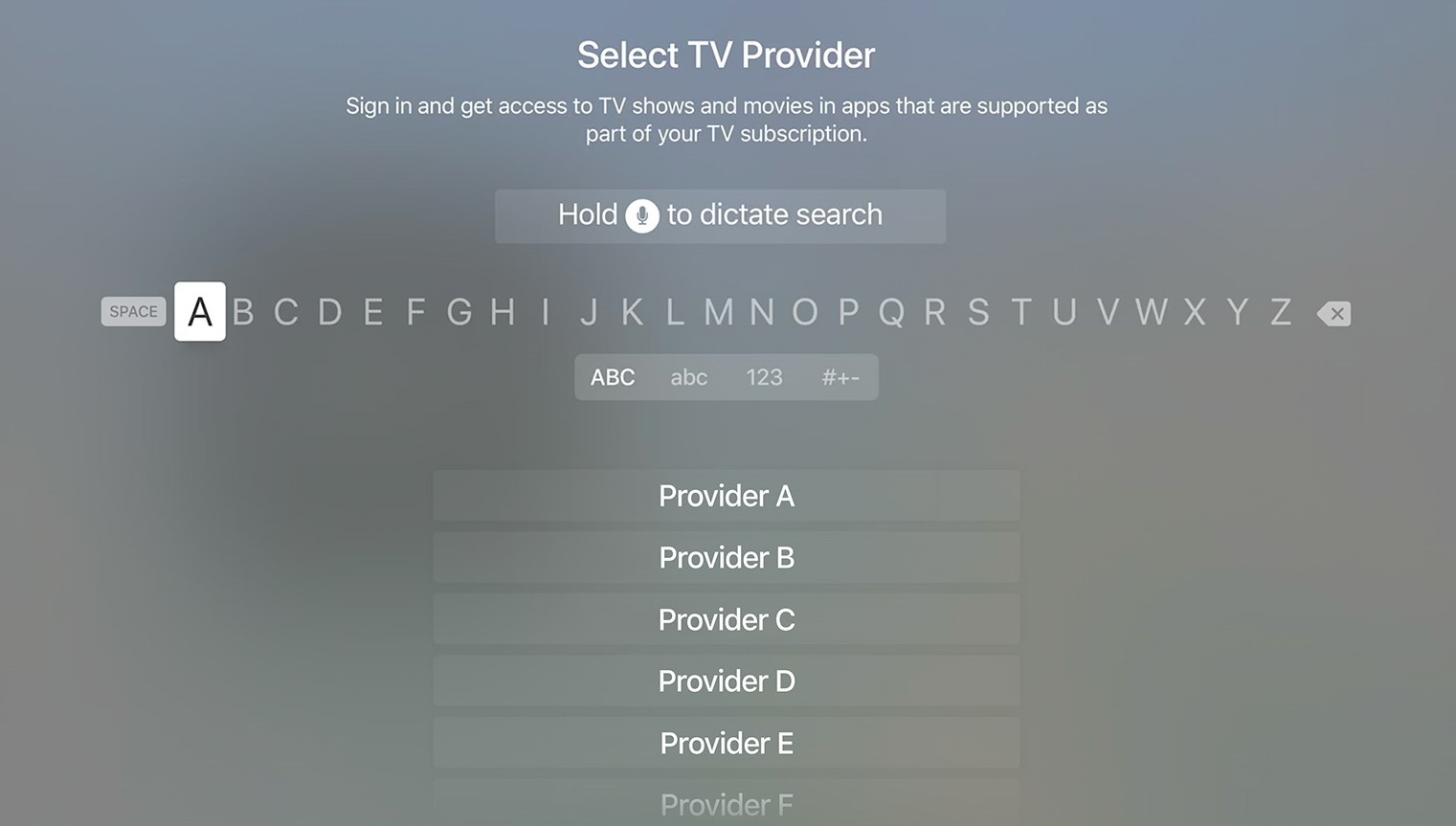 select-tv-provider-apple-tv-wise-tech-labs